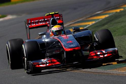 Lewis Hamilton - Treino GP Australia 2012