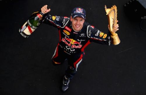 Sebastian Vettel vence GP da Coreia 2012