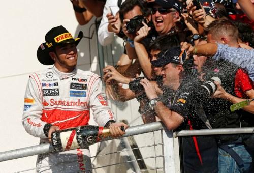 Lewis Hamilton vence GP dos Estados Unidos 2012