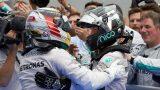 GP Malásia F1 2014 - Hamilton e Rosberg