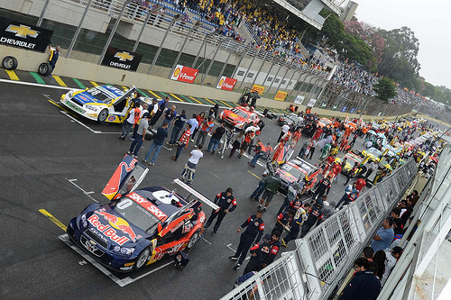 Stock Car 2014 Grid em Interlagos SP