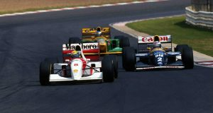 Senna Prost Schumacher