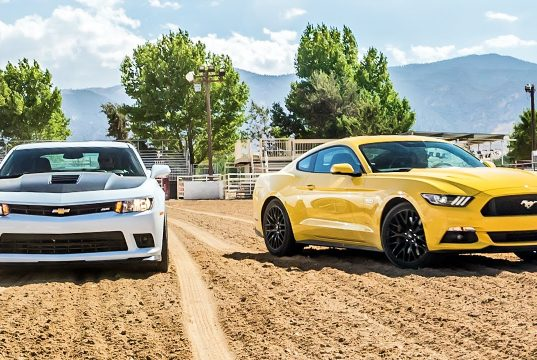 Ford Mustang GT x Chevrolet Camaro SS