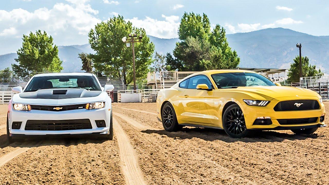 Ford Mustang GT x Chevrolet Camaro SS