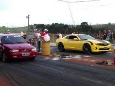 Gol GTi 16v versus Camaro SS