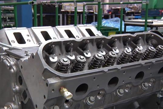 Motor do Corvette V8